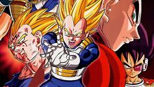 Poster 42x24 cm Dragon Ball Vegeta Super Saiyan 02