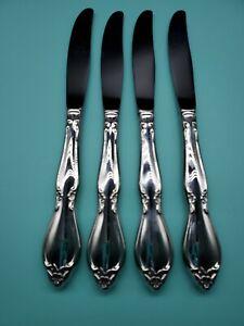 Oneida CHATELAINE Dinner Knifes Set of 4