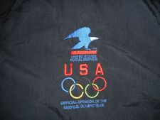 VTG 1992 USA Olympic Games USPS Post Office Sponsor Windbreaker Jacket XL 2XL