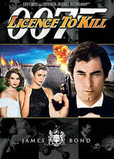 Licence to Kill DVD 007 James Bond Timothy Dalton Cary Lowell FACTORY SEALED