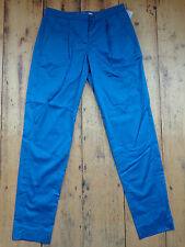 """French Connection Classic Blue Smart Trousers Chinos. Size UK 4 (Waist 28"""")"""