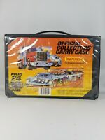 VINTAGE 1983 MATCHBOX OFFICIAL COLLECTORS CARRY CASE 24 CAR CASE.