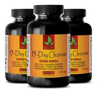 full body detox - 15 DAYS CLEANSE COMPLEX - it works cleanse - 3 Bottles