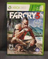 Far Cry 3 (Microsoft Xbox 360, 2012) Video Game