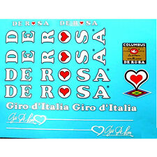 De Rosa Derosa Giro d' Italia decals vintage
