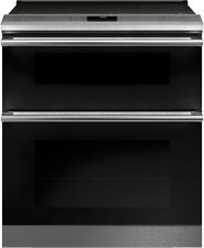 """Ge Cafe 30"""" Slide-In True Convection Double Oven Smoothtop Range-Brand New!"""