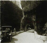 Francia snapshot Automobile Collezione Foto PL52P7n13 - Placca Lente Vintage