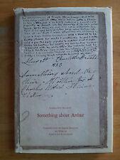 Something About Arthur, Charlotte Bronte Juvenilia Manuscript 1981 Jane Eyre