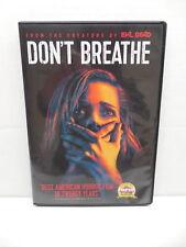 Don't Breathe Horror Movie Home Invasion DVD Stephan Lang Dylan Minnette Levy