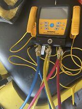 Fieldpiece Sm380v 3 Port Sman Refrigerant Manifold With Micron Gauge