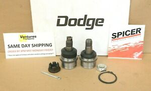 Dodge Dana 44 1971-1993 Upper And Lower Ball Joint W100 W200 Ram Charger OEM