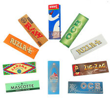 Popular Small Cigarette Rolling Papers Sampler Pack - Best Sellers