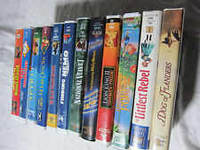 11 VHS lot of Disney and various Childrens movies. Very good! Ships fast!