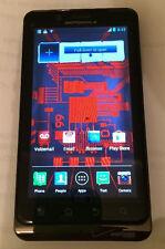 Motorola Droid Bionic XT875 4G LTE 16GB Black Verizon phone Clean ESN good cond