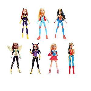 "DC Comics Superhero Girls 12"" Figures Doll Mattel Supergirl Wonder Woman Batgirl"