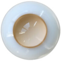 [PF] Ew08#14mm No Pupil Eyes For BJD Doll Dollfie Glass Eye Equipment