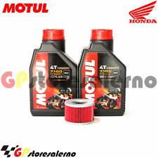 TAGLIANDO OLIO + FILTRO MOTUL 7100 10W50 HONDA 250 CB SUPER DREAM 1984