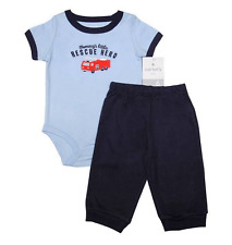 "Carter's 2-pc Bodysuit & Pants Set ""Mommy's Little Rescue Hero"" (GBC-179), 6mos"