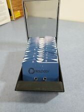 Unused Covered Rolodex 67261 Business Card File With200 Cards Amp A Z Index Tabs