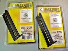 2-Pack Fits COLT Woodsman PREWAR MAGAZINE Mag US MADE 22LR 10 Rd 22