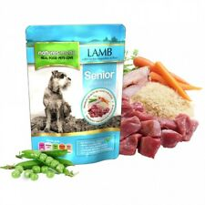 Natures Menu Senior Dog Diet Food - Lamb with Chicken, Vegetables & Rice x 8