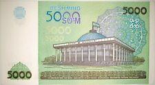 Ouzbékistan - 5000 Som 2013