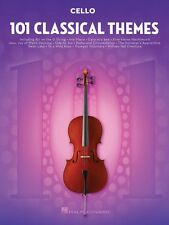 101 Classical Themes for Cello Instrumental Solo Book NEW 000155325