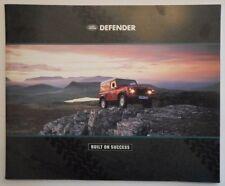 LAND ROVER DEFENDER 90 110 & 130 orig 1991 Large Format Prestige Sales Brochure