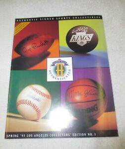 ☆ RARE 1993 UPPER DECK AUTHENTICATED Catalog Issue #1 Los Angeles Edition NICE