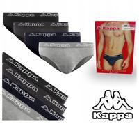 4er Pack KAPPA Herren Slip Briefs Unterwasche Unterhose BAUMWOLLE 4-Farben K1111