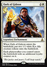 MTG OATH OF GIDEON FOIL ITALIANO - GIURAMENTO DI GIDEON - OGW - MAGIC
