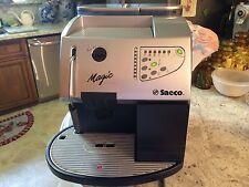Saeco Magic De Luxe 30092 2 Cups Espresso Machine - Silver