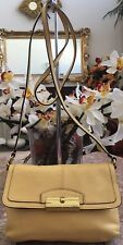 Auth. Coach Kristin 48986 Yellow Leather Swing-pack Cross-body Bag Purse EUC!