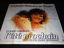 L' ÉTÉ PROCHAIN TRINTIGNANT Noiret  Ardant affiche cinema portrait Cardinale