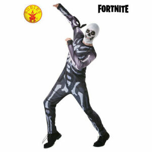 FORTNITE SKULL TROOPER Costume Dress Up Ages 12+ Licensed BRAND NEW