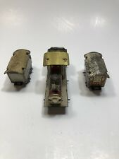 Vintage Japanese Tin Penny Toy Train Pieces Not A Set SHIP FREE IN USA