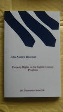 Property Rights in the Eighth-Century Prophets by John (Paperback, 1988)