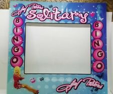 Custom Dolly Parton Solitare Bingo Slot Machine Game Plexiglass Cover 22x23