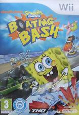 spongebob squarepants boating bash wii game nickelodeon (B3)