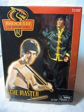 """BRUCE LEE THE MASTER PLAY ALONG ACTION FIGURE-MIB-12"""" 16 POINT POSE COLLECTIBLE"""