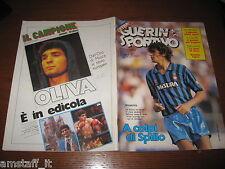 GUERIN SPORTIVO 1983/5=AGENDA DELLO SPORT=POSTER CAGLIARI=ALTOBELLI=