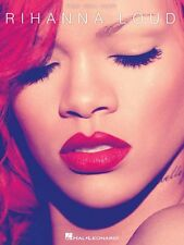Rihanna Loud Sheet Music Piano Vocal Guitar SongBook NEW 000307236