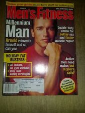 Men's Fitness Magazine December 1999 - Arnold Schwarzenegger millenium man