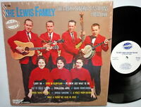 LEWIS FAMILY Gospel Singing Sensations From Dixie LP  #1885