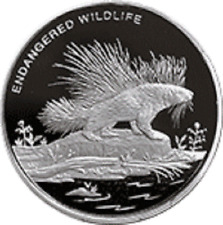 Congo - 10 Franc Porcupine