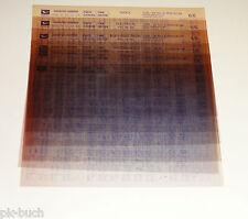 Microfich Ersatzteilkatalog Daihatsu Charade Typ G200, 202, 203, 204 Stand 06/00