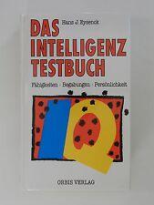 Hans J Eysenck Das intelligenz Testbuch Fähigkeiten Begabungen Persönlichkeit