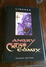 ANGRY CHRIST COMIX hardcover  Limited Signed & Numbered, Joseph Linsner