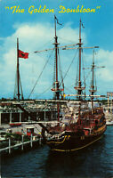 Postcard The Golden Doubloon Fort Lauderdale Florida