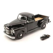 CHEVROLET 3100 PICK UP 1950 BLACK 1:25 Maisto Auto Stradali Die Cast Modellino